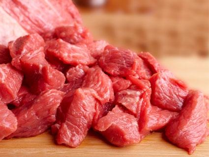 Rohes Rindfleisch für Hunde & Katzen